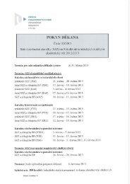 1D/2013 - Fakulta zdravotnických studií