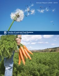 download it as a PDF - Faculty of Land and Food Systems ...