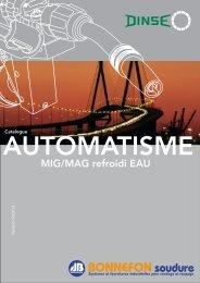 Catalogue DINSE pour automatisme - Bonnefon Soudure