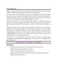 Cas clinique 16 - UMVF