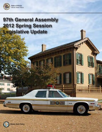 97th General Assembly 2012 Spring Session Legislative Update