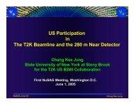 CK's NuSAG Talk (pdf) - Stony Brook NN Group