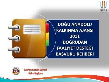 Maliyetlerin Uygunluğu - Doğu Anadolu Kalkınma Ajansı