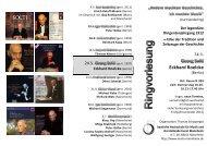 Eckhard Roelcke - Staatliche Hochschule für Musik und ...