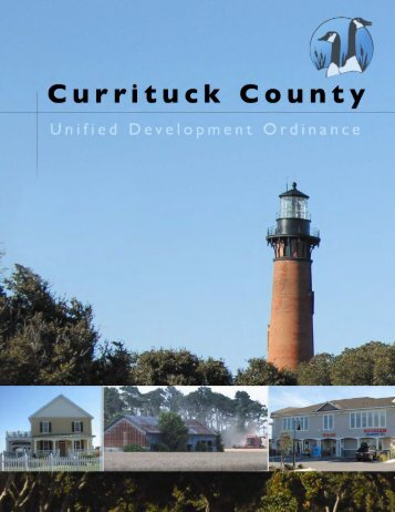 Unified Development Ordinance - Currituck County Government