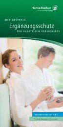 Ergänzungsschutz - Zahnzusatzversicherung