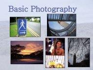 Basic Photography (pdf)
