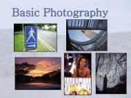 Basic Photography (pdf)