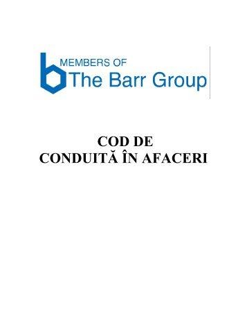 Codul conduitei - EthicsPoint