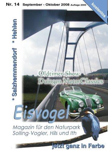 Eisvogel - 3. Jahrgang, Ausgabe 14, September-Oktober 2008