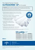 ULTRASORBS® DRYPADS - Medline - Page 2