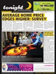 average home price edges higher: survey - tonight Newspaper
