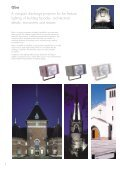 Compact projector for discreet facade illuminations - THORN Lighting - Page 2