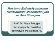 Sterilizasyon - İ.Ü. Cerrahpaşa Tıp Fakültesi
