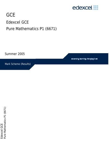 A level c1 maths edexcel past papers