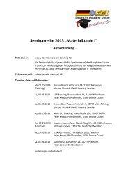 Ausschreibung - Deutsche Bowling Union