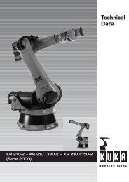 KR 210--2, KR 210 L180--2, KR 210 L150--2