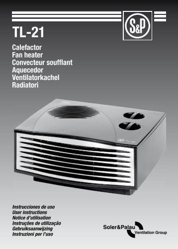 Manual de usuario - Soler & Palau
