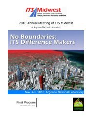 2010 ITS Midwest Annual Meeting Program