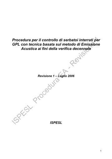 Revisione 1 - Luglio 2006 - Sicurweb