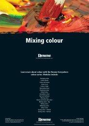 Mixing colour - Resene