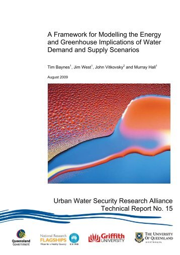 A framework for modelling the energy and greenhouse implications ...