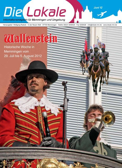 Download Ausgabe Juni 2012 - Lokale Zeitung Memmingen