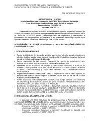 Metodologie licenta/disertatie -