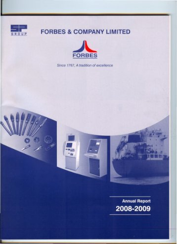 Annual Report 2009 - Forbes & Company Limited