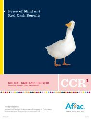 AFLAC Critical Care and Recovery