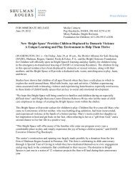 District Alliance for Safe Housing - Shulman, Rogers, Gandal, Pordy ...