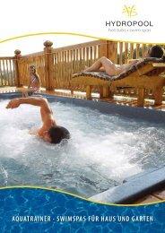 HYDROPOOL SwimSpas - Hydropool-Whirlpools.de