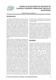 mollusca: gastropoda - USP