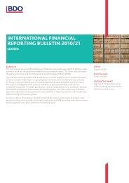 Leases - BDO International