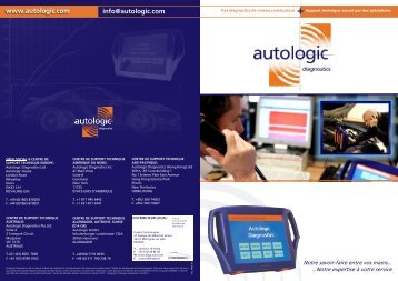 Support technique - Autologic-Diagnostics
