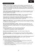 BELANGRIJKE VEILIGHEIDSTIPS: Deze stofzuiger is uitsluitend ... - Page 2