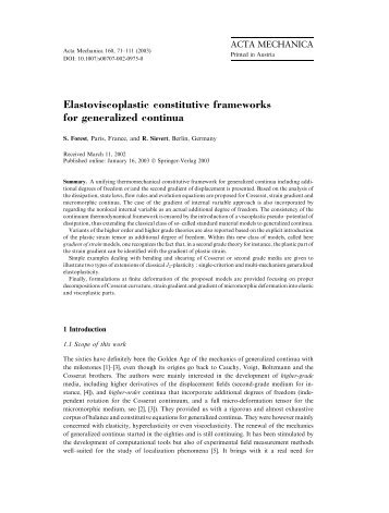 Elastoviscoplastic constitutive frameworks for generalized continua