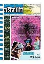 Skráin 40 . tbl. - 11. október 2012 - Skarpur.is