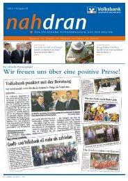 Newsletter 02-2012 - Volksbank