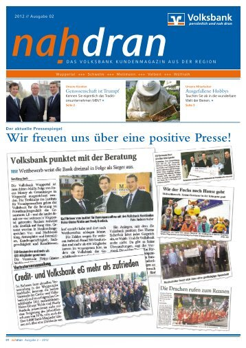 Newsletter 02-2012 - Volksbank