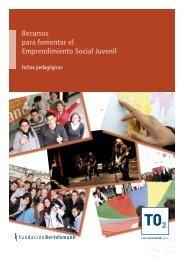 Recursos para fomentar el Emprendimiento Social Juvenil