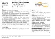 Notiziario fitosanitario per l'area del Parteolla - Sardegna Agricoltura