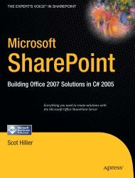 Microsoft-sharepoint-building-office-2007-solutions-in-c - A2Z Dotnet
