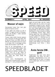 Første kampe i 2001 – første sejr. - Rugbyklubben Speed
