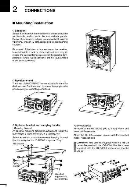 IC-R8500 Instruction Manual - Icom Australia