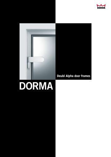 Deubl Alpha door frames - Fit In Glas