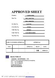 APPROVED SHEET