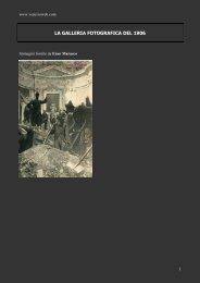 1906 -LA GALLERIA FOTOGRAFICA DEL 1906-2 - Vesuvioweb