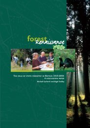Forest renaissance - The role of state forestry in Britain ... - WWF UK