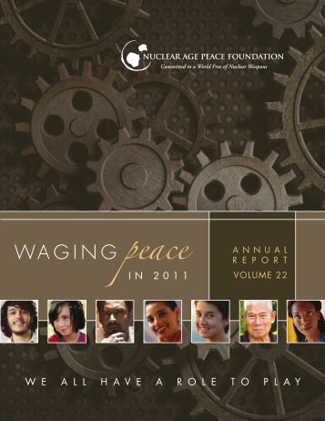 Annual Report - Nuclear Age Peace Foundation